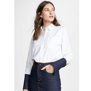 Current/Elliott Women's The Bane Shirt Size 2